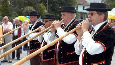 Festakt am Zentralschweizer Jodlerfest in Reiden