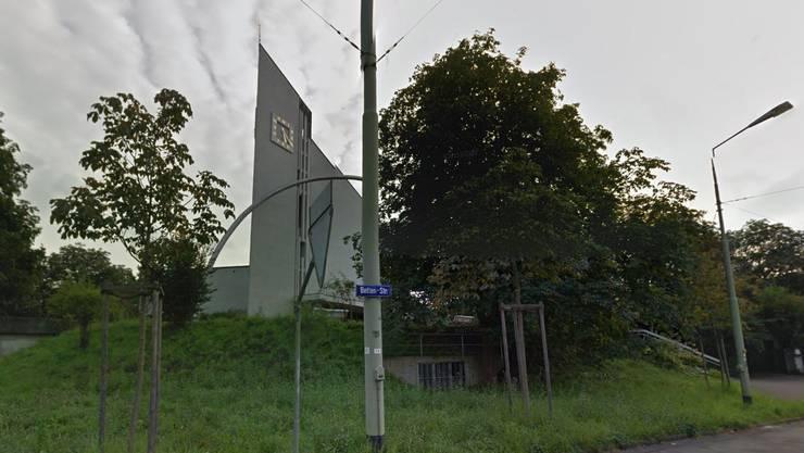 Die Kirche Rosenberg wird vorübergehend zur Asylunterkunft.