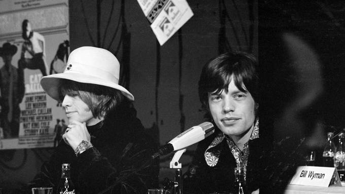 Jagger Pressekonferenz