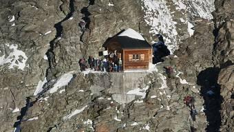 Die beiden japanischen Bergsteiger wollten in der Solveyhütte Unterschlupf finden, kamen aber nie dort an. (Archivbild)