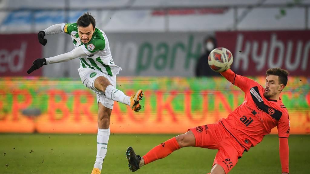 Der FC St.Gallen braucht zu viele Schüsse für ein Tor