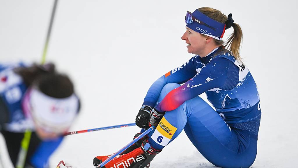Nadine Fähndrich fällt aus den Top Ten der Gesamtwertung
