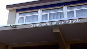 Gemeindeverwaltung Riedholz. (Archivbild)