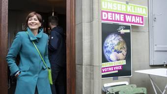 Freut sich, dass Politologe Hermann mit seinen Prognosen so daneben lag: Grünen-Parteipräsidentin Regula Rytz.