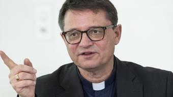 """Felix Gmür, Präsident der Bischofskonferenz und Bischof des Bistums Basel: """"Wir sind nicht gegen die Organspende, im Gegenteil, aber wir sind gegen den Automatismus."""" (Archivbild)"""