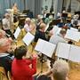 Musikverein Gretzenbach Probe fürs Jahreskonzert 2019