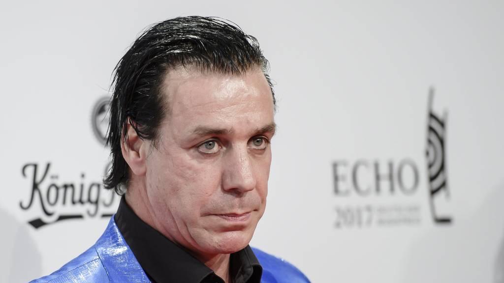 Till Lindemann krank - Ticketverlosung pausiert