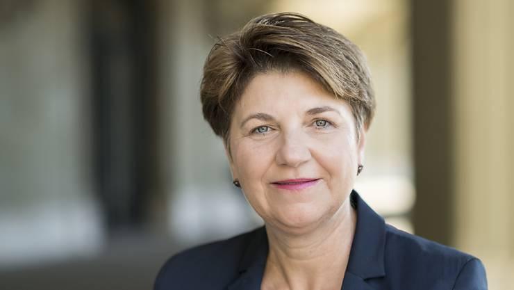 Ergreife nur selten das Wort, doch wenn sie es tue, habe es Hand und Fuss: Die Walliser Nationalrätin Viola Amherd will Bundesrätin werden.