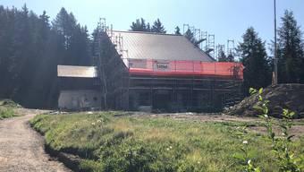 Das Berghaus im Wallis ist normalerweise während 30 bis 35 Wochen pro Jahr vermietet.