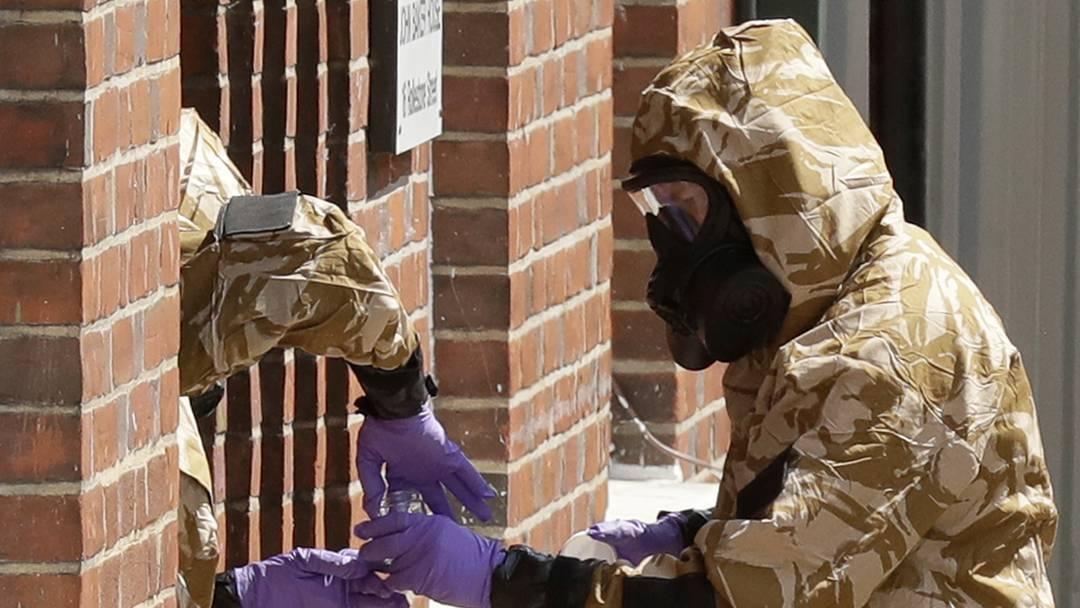 Britin stirbt nach Novitschok-Vergiftung