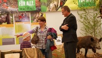 Gewerbeausstellung W12 in Oberkulm