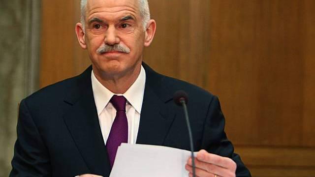 Giorgos Papandreou will von Merkels Vorschlag nichts wissen