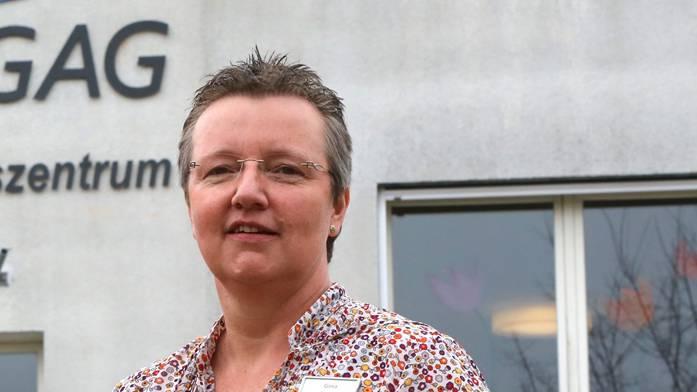 Gina Kunst, ist die Geschäftsführerin der GAG.