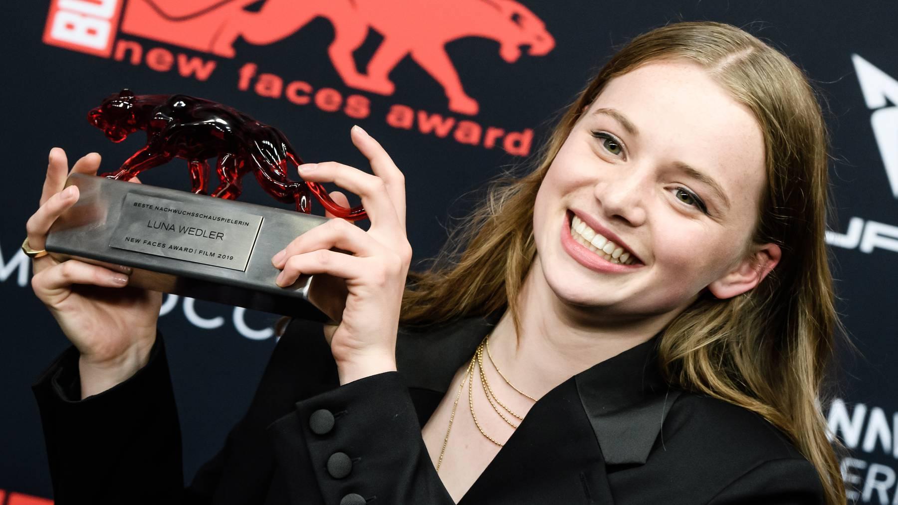 Luna Wedler ist die Schweizer Durchstarterin der Filmszene.