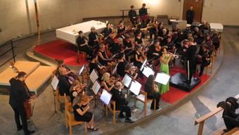 Das Stadtorchester Schlieren und die Solo-Trompeterin Manuela Fuchs rissen das Publikum mit.