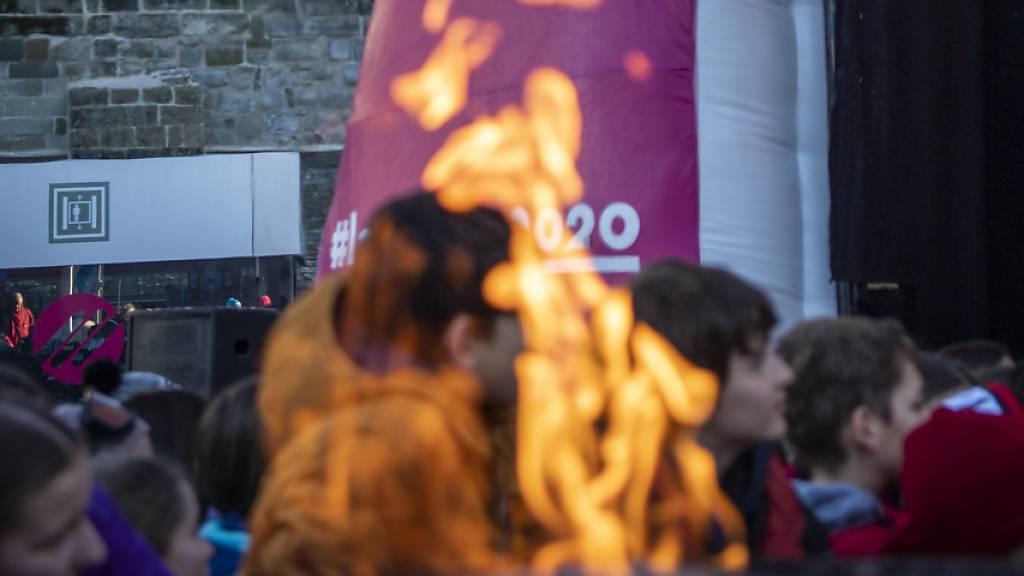 Schwerer Unfall bei den Vorbereitungen zur Eröffnungsfeier der Olympischen Jugendspiele in Lausanne. Eine Frau schwebt in Lebensgefahr. (Symbolbild)