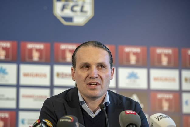 Remo Meyer verbuchte einen Fehlgriff, aber jetzt läuft es gut bei ihm und dem FC Luzern.
