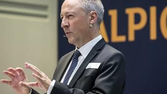 Jens Alder, Alpiq-Verwaltungsratspräident und Delegierter des Verwaltungsrats, begrüsst das öffentliche Übernahmeangebot für den Energiekonzern (Archivbild)