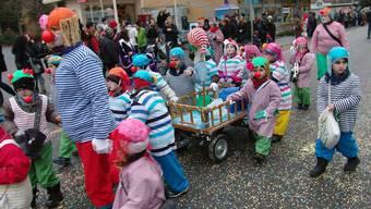 Kinderfasnachtsumzug 2012 in Dietikon