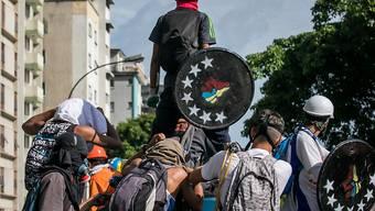 Seit Beginn der Proteste in Venezuela Anfang April sind bereits 65 Menschen gestorben. (Archiv)