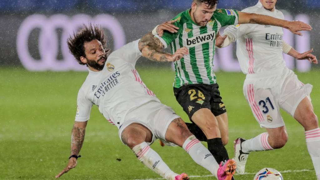 Ein Ausrutscher zur Unzeit? Marcelo und Real Madrid geben gegen Betis Sevilla Punkte im Rennen um den spanischen Meistertitel ab