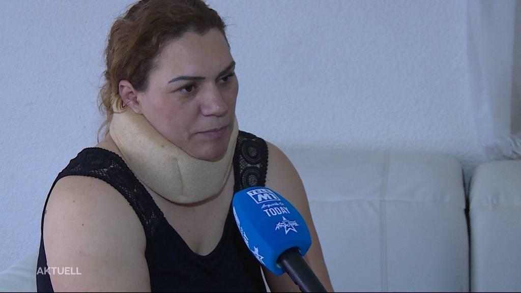 Eingeschlafen: Jetzt spricht die Unfallfahrerin von Menziken