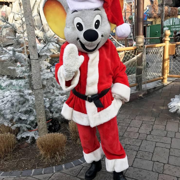 Auch Ed Euromaus ist bereit für Weihnachten