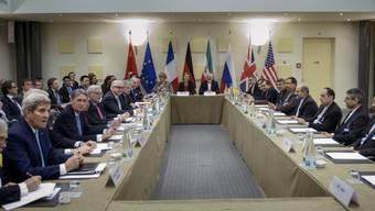 Die Verhandlungen am Dienstag in Lausanne