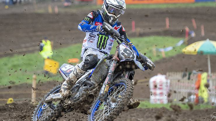 Der Schweizer Motocross-Rennfahrer Jeremy Seewer