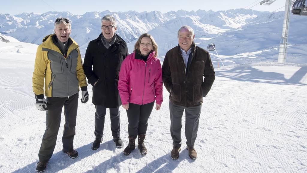 Fahrt am Skitag in den Spuren von Bernhard Russi