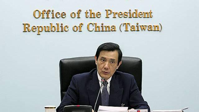 Taiwans Präsident Ma