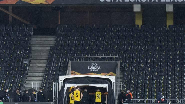 Das Stadion Wankdorf in Bern bleibt künftig ganz leer