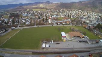 Auf der Hunzikerwiese in Balsthal soll der Demenzpark gebaut werden.