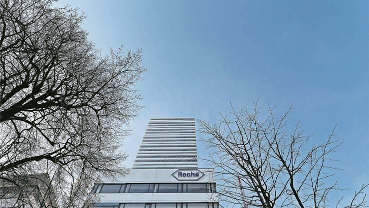 Kaum bedeutende ausländische Aktionäre: Roche. Im Bild zu sehen: der Roche-Tower in Basel. Michele Limina/Bloomberg
