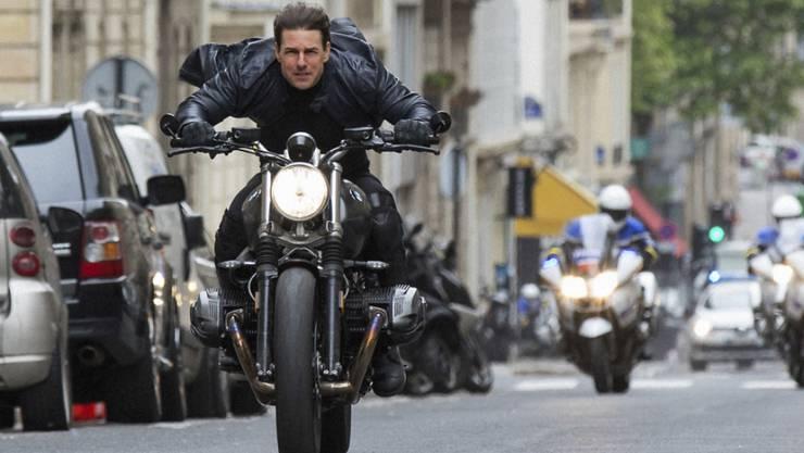 """Tom Cruise trifft mit seinem neuen Film """"Mission: Impossible - Fallout."""" den Geschmack des Kinopublikums in Nordamerika. (Archivbild)"""