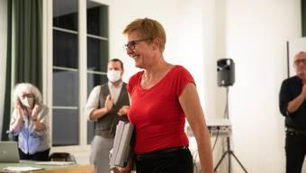 Stefanie Ingold will die erste Stadtpräsidentin werden.