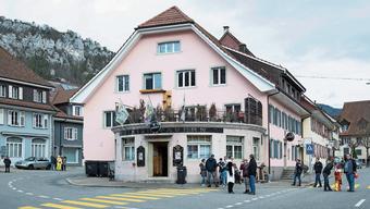 Ein beliebter Treffpunkt während der Fasnachtszeit: Das Irish Tavern Pub in Balsthal.