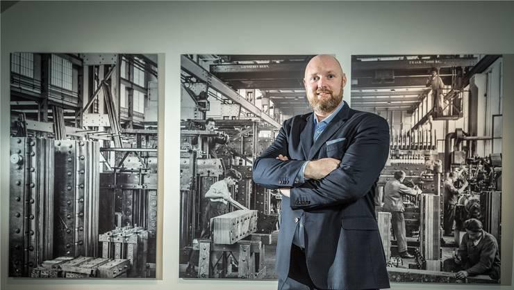 Trafo-Hotel-Direktor Erik Roedenbeck: «Konkurrenz belebt das Geschäft.»