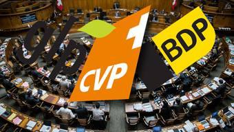 Ob Fusion, gemeinsame Fraktion oder doch nur eine verbindliche Zusammenarbeit: Die Mitteparteien suchen nach Rezepten, wie sie ihre Position stärken könnten.