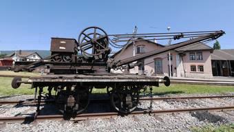Historische Schienenfahrzeuge in Windisch