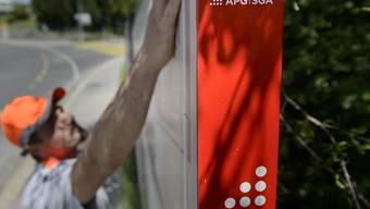 APG setzt bei der Geschäftsleitung und der Administration den Rotstift an. Dafür wird in den Bereich Digital und Data investiert. (Archiv)