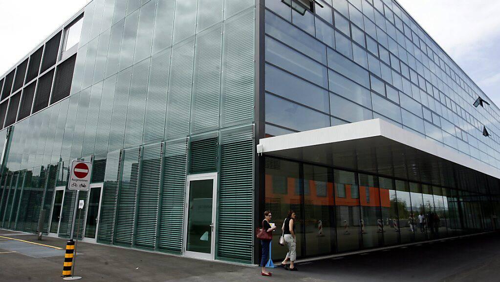 Das Zuger Kantonsspital in Baar ZG kurz vor der Eröffnung 2008. Neu wird die AG strategisch von drei Frauen und drei Männern geleitet. (Archivaufnahme)