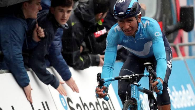 Auch Superstar Nairo Quintana steht auf der provisorischen Meldeliste für die Tour de Suisse 2018.