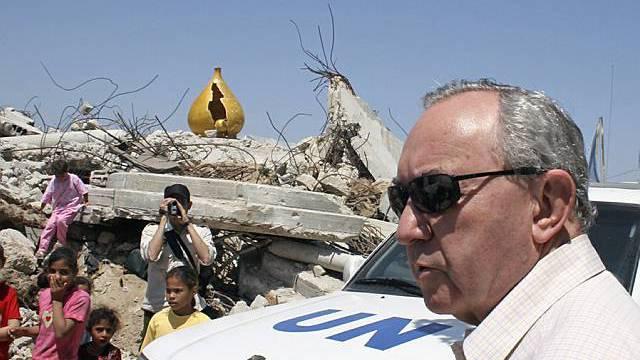 Richard Goldstone besucht Gaza City (Archiv)
