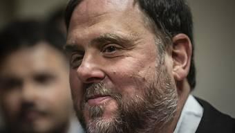 Der katalanische Separatistenführer Oriol Junqueras hat seinen Sitz im Europäischen Parlament infolge eines spanischen Gerichtsurteils wieder verloren. (Archivbild)