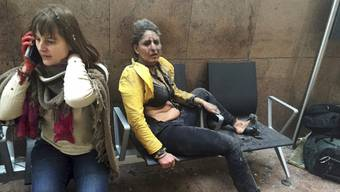 Das Foto, das um die Welt ging: Die Journalistin Ketevan Kardava dokumentierte die Folgen des Terroranschlags im Brüsseler Flughafen.