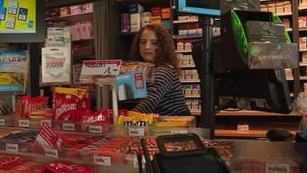 Kiosk-Mitarbeiterin Melanie Werren