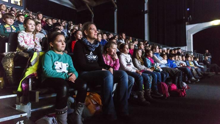 Kinderfilmprogramm an den Solothurner Filmtagen 2017 in der Reithalle