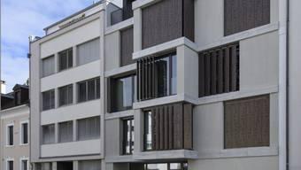 Das neue Gästehaus der Universität Basel am Nonnenweg.