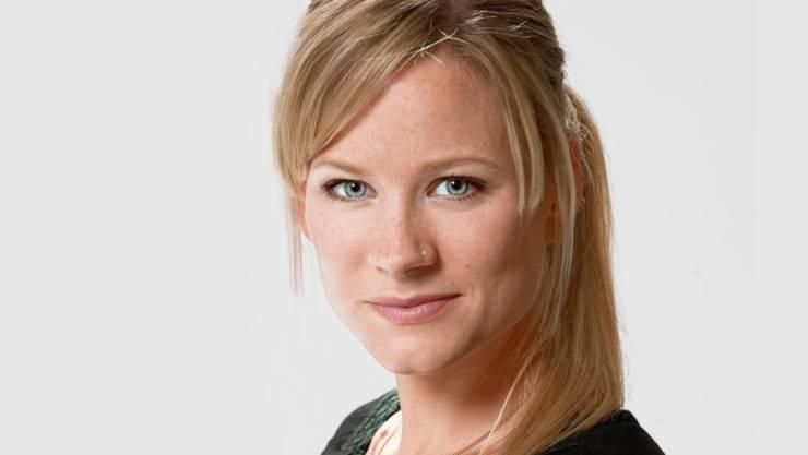 Lässt sich an ihre Periode erinnern: Ohne ihre Apps könnte Andrea Jansen den Alltag als berufstätige Mutter nicht meistern. (SRF)